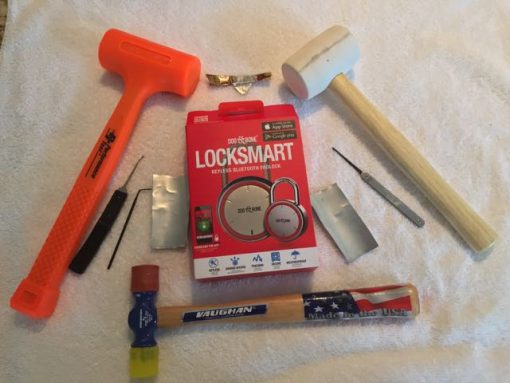 Mr. Locksmith Opens Dog & Bone LockSmart in Seconds with Shims!