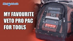 My Favourite Veto Pro Pac for Tools | Mr. Locksmith Training Blog