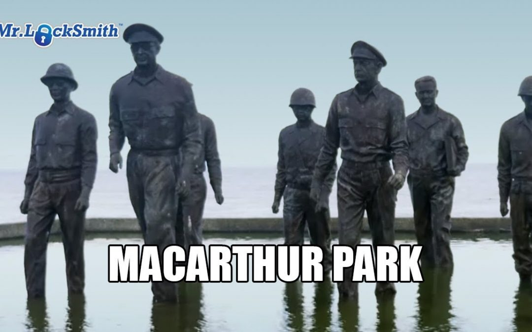 """I shall return"" MacArthur Park in Philippines 