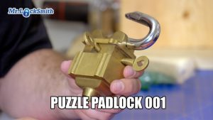 Mr. Locksmith Puzzle Padlock 001