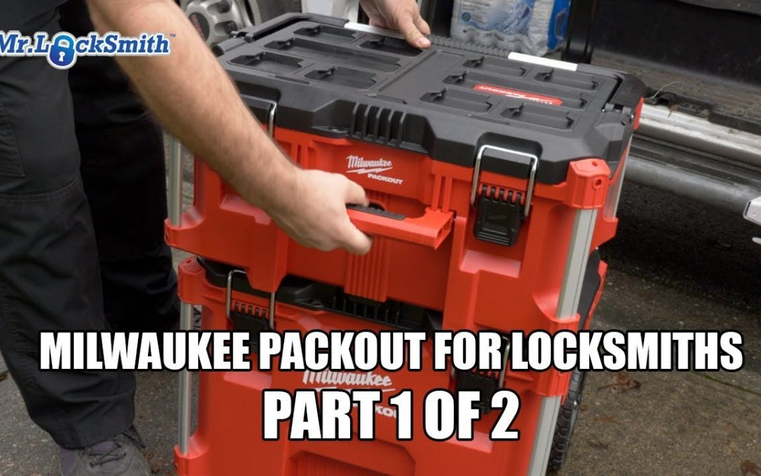 Milwaukee Packout for Locksmiths Part 1 of 2 | Mr. Locksmith