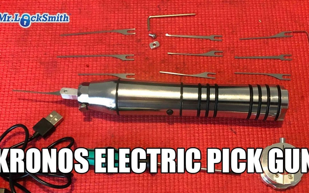 Kronos Electric Pick Gun Review | Mr. Locksmith Video