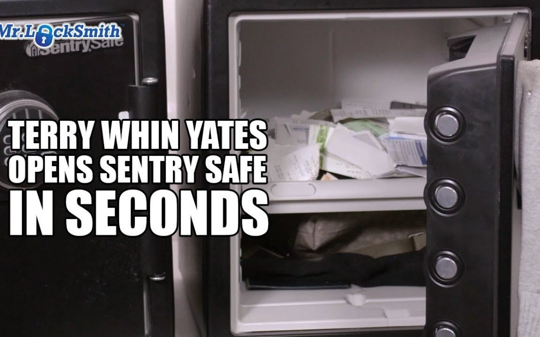 Terry Whin-Yates Opens Sentry Safe in Seconds!