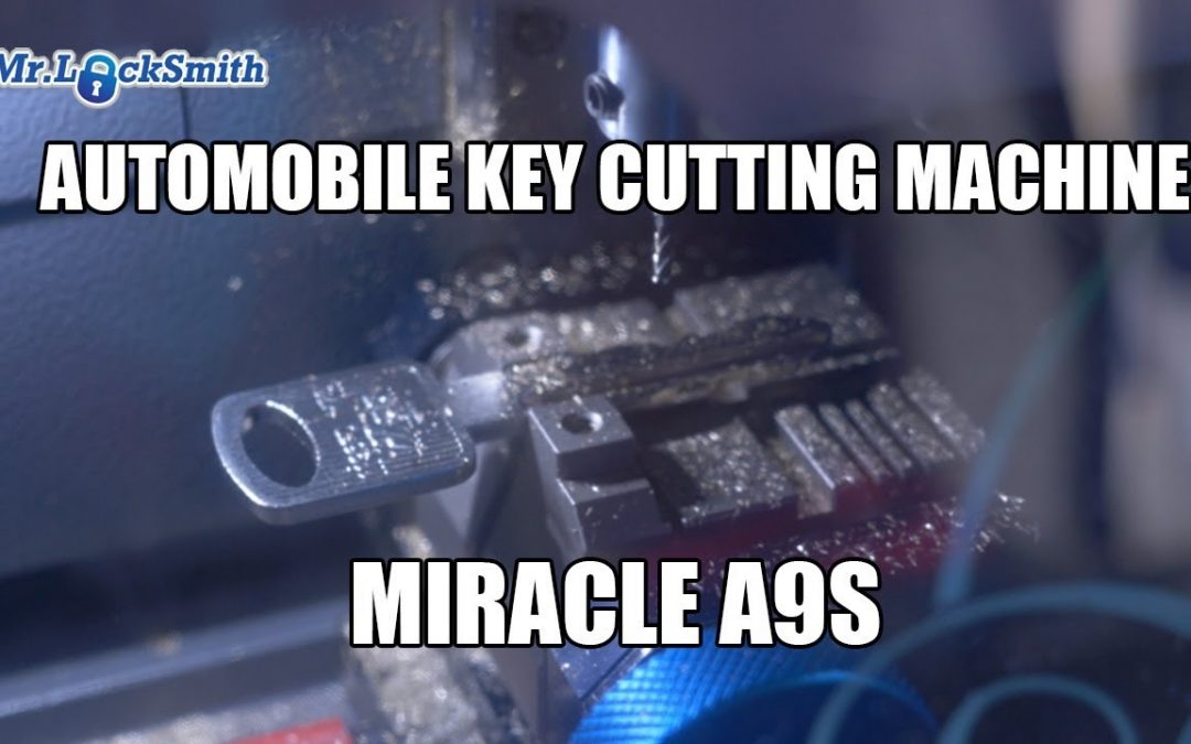 Automobile Key Cutting Machine Miracle A9s | Mr. Locksmith™