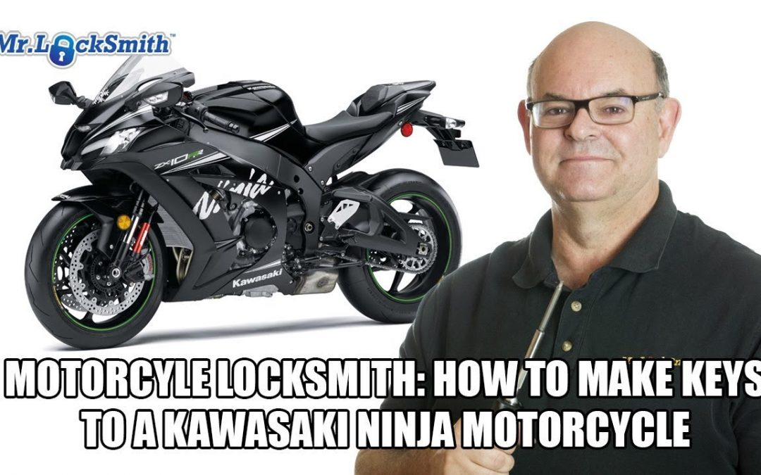Motorcycle Locksmith: How to make keys to a Kawasaki Ninja Motorcycle | Mr. Locksmith™ Blog