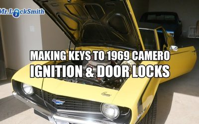 Making Keys To 1969 Camero Ignition & Door Locks | Mr. Locksmith™