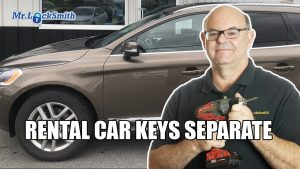 Rental Car Keys Separate | Mr. Locksmith™ Training